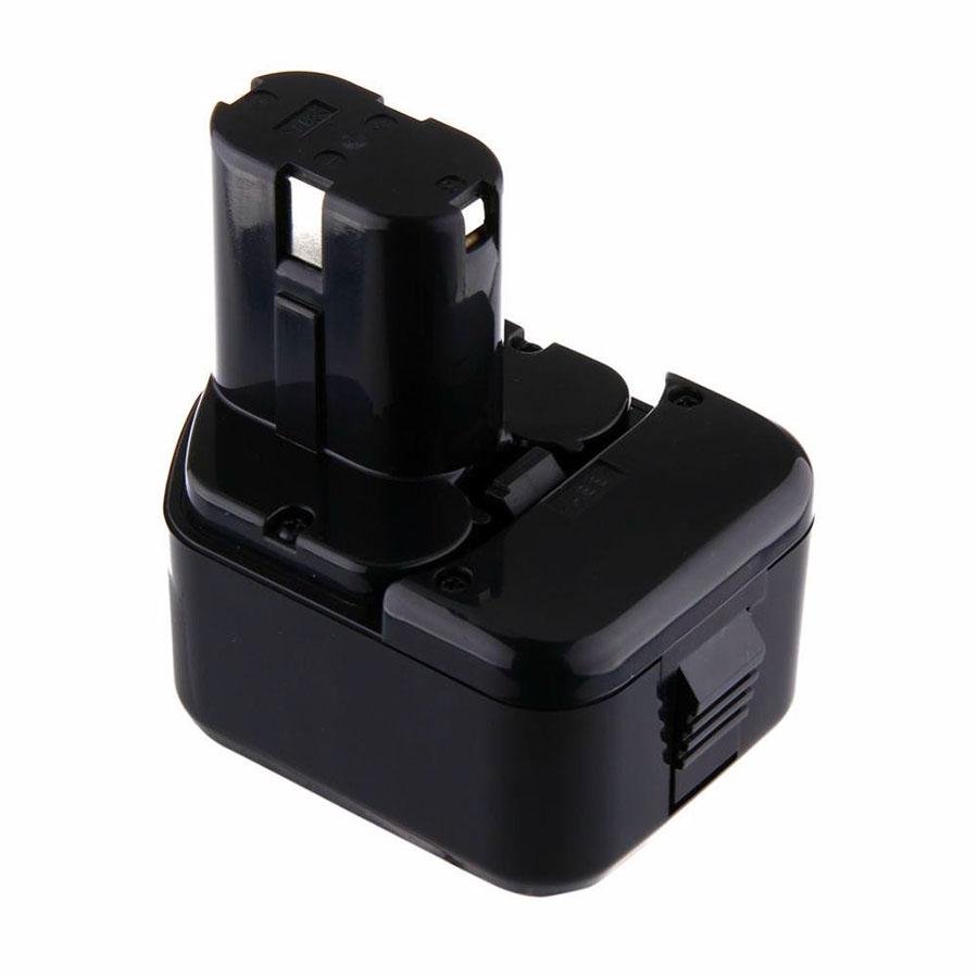 QTY 2X 12V Ni-CD 2000mAh Power Battery Hitachi EB1220BL EB1214L Eb1220hl Eb1220hs EB 1230HL EB 1230R