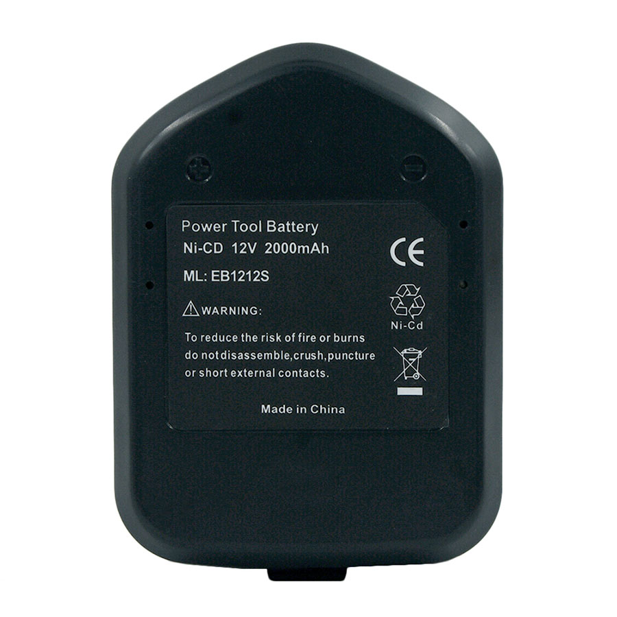 12V Ni-CD 2.0Ah 2000mAh Power Battery Hitachi EB1214S EB1212S EB1214L Eb1220bl Eb1220hl Eb1220hs Eb1220rs