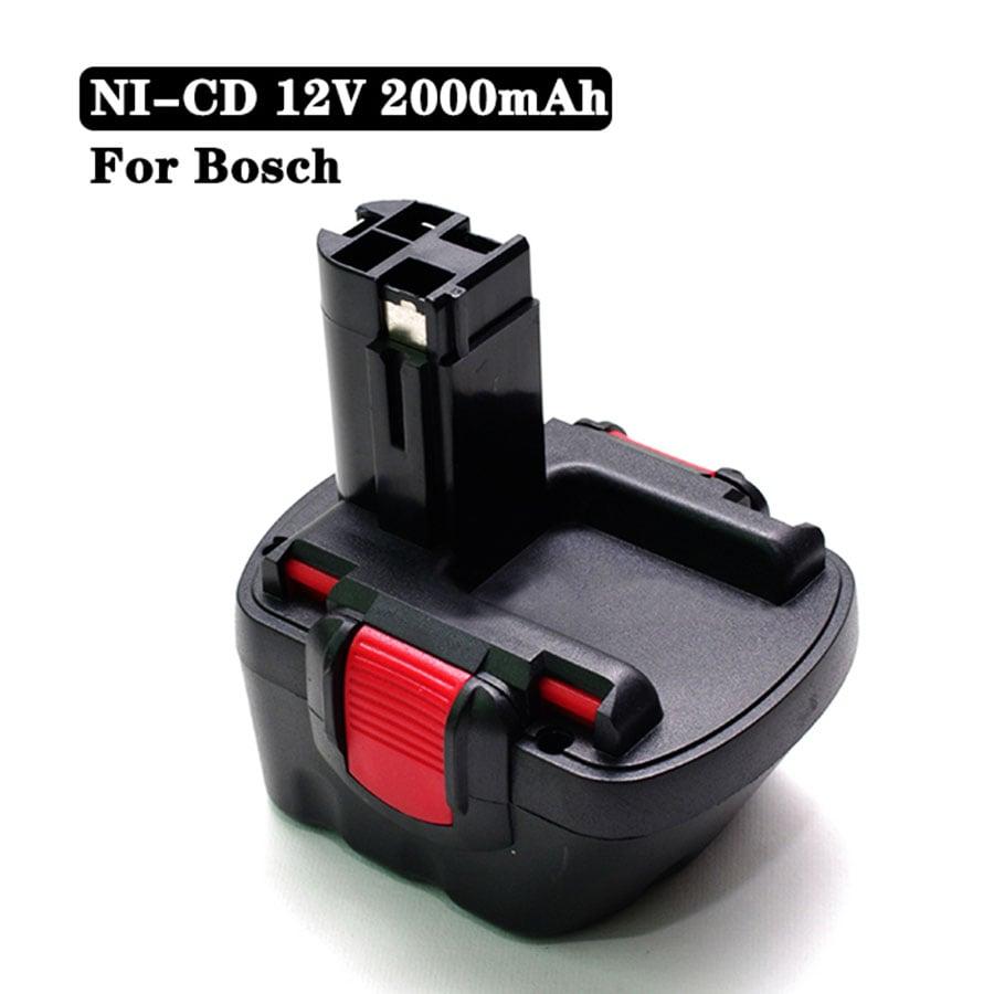 12V 2000mAh Ni-CD 2.0 Ah Battery Bosch BAT043 BAT120 BAT045 BAT046 BAT049 BAT139 Batteries