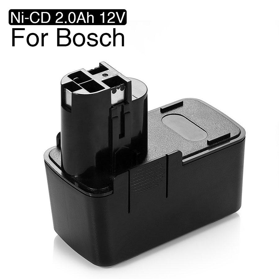 Ni-CD 2.0Ah 12V Battery Bosch 12V 2.0Ah BAT011 BH1214H BH1214L BH1214MH H1214N 3300K