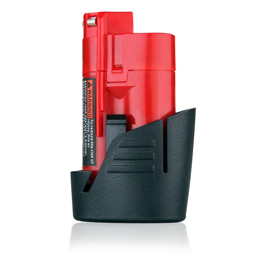 1500mAh Milwaukee 10.8V/12V power Lithium battery 48-11-2401 48-11-2440 M12, M12 XC