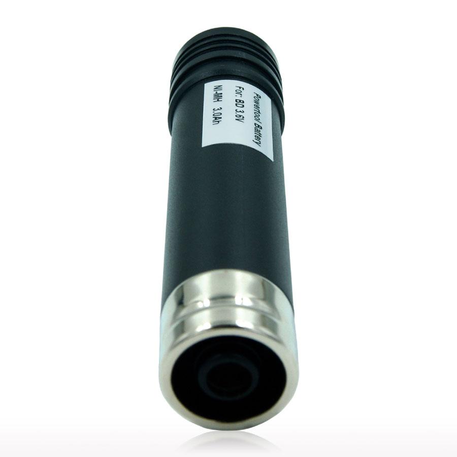 2 PCS 3.6V 3000mAh Ni-MH Battery Black & Decker Versapak VP100, VP100C, VP105, VP105C, VP110, VP110C, VP143