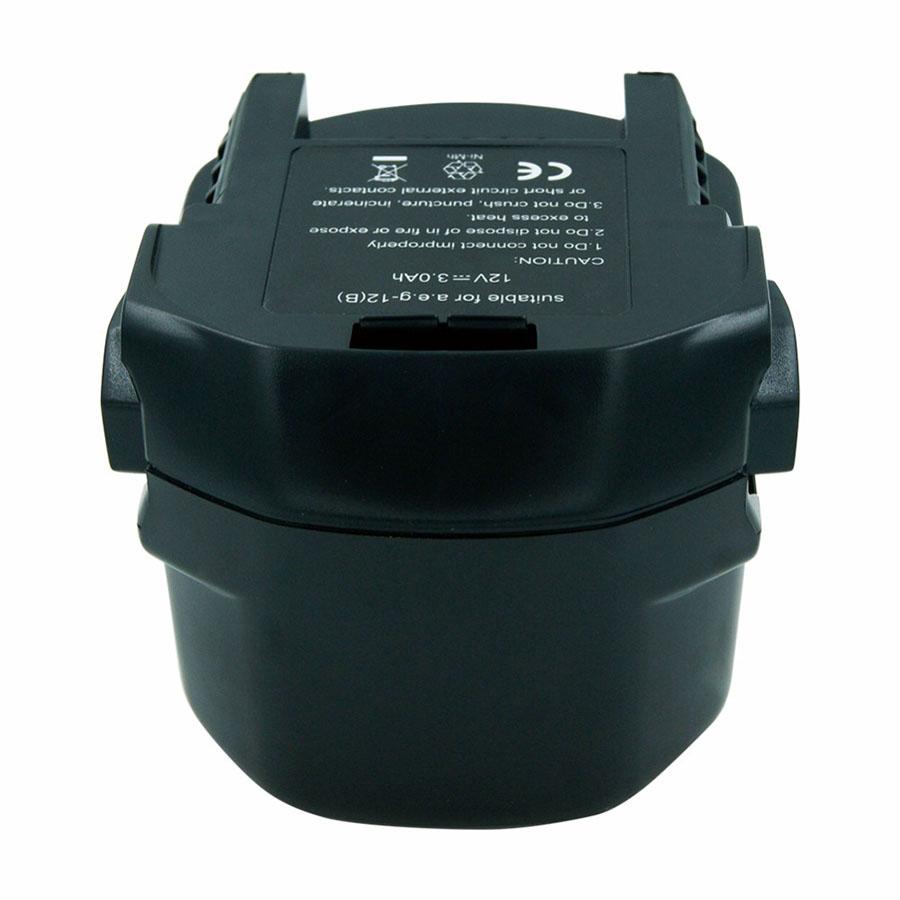 Ni-MH 3000mAh New battery AEG/Ridgid Power B1220R B1214G B1215R M1230R,AEG BS 12X, AEG BSB 12 STX