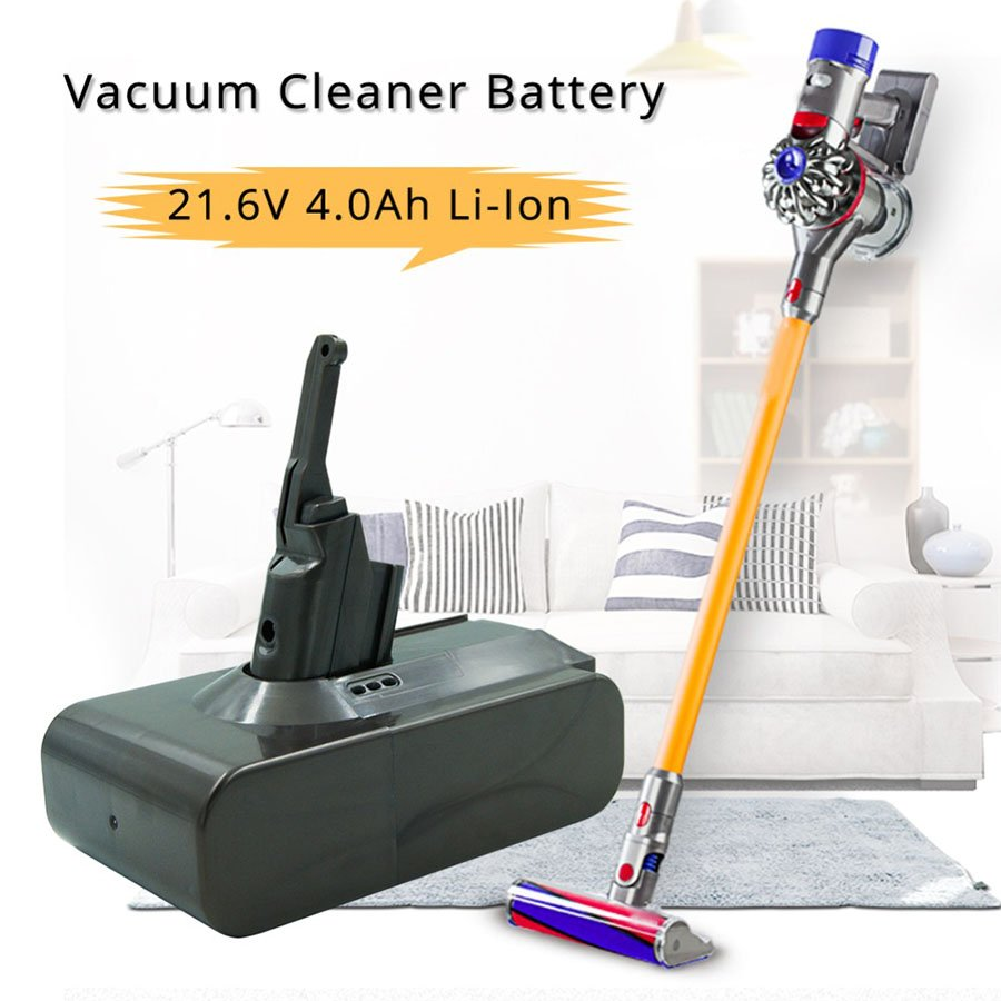 21.6V 4000mAh Battery Dyson V8 Absolute Cord-Free Handheld Vacuum Cleaner with LED light(NOT FIT Wall )