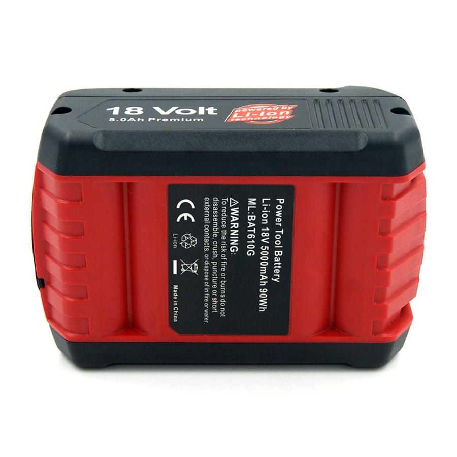 5000mAh 18V Lithium Battery Bosch Drill BAT619G BAT609 BAT618 BAT621 BAT622 With LED Idicator