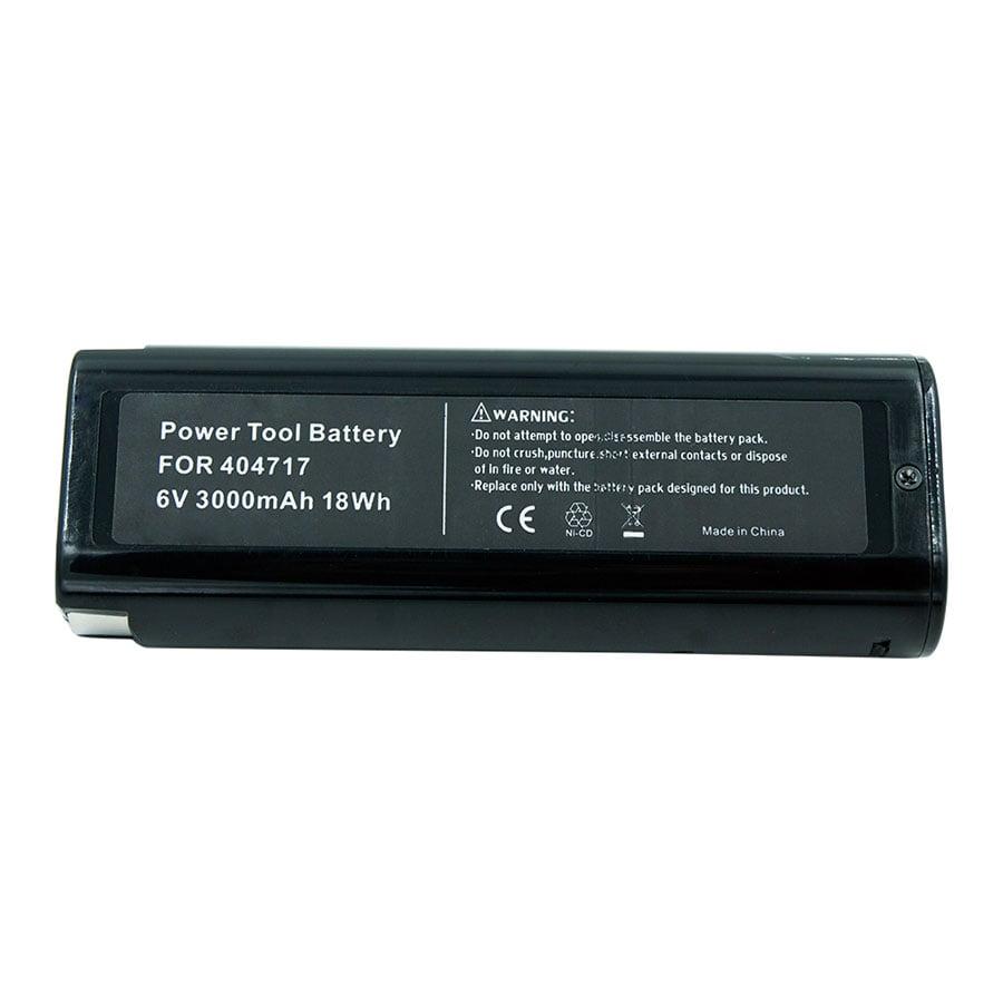 2 Pack 6V 3.0Ah Battery Paslode 404717 B20544E,BCPAS-404717SH,IM350A,IM200F18,IM350CT,IM65A