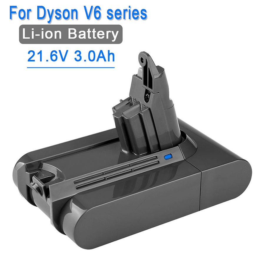 21.6V 3000mAh Battery Dyson Battery 3.0Ah V6 DC61 DC62 DC72 DC58 DC59 DC72 DC74 Vacuum Cleaner 965874-02