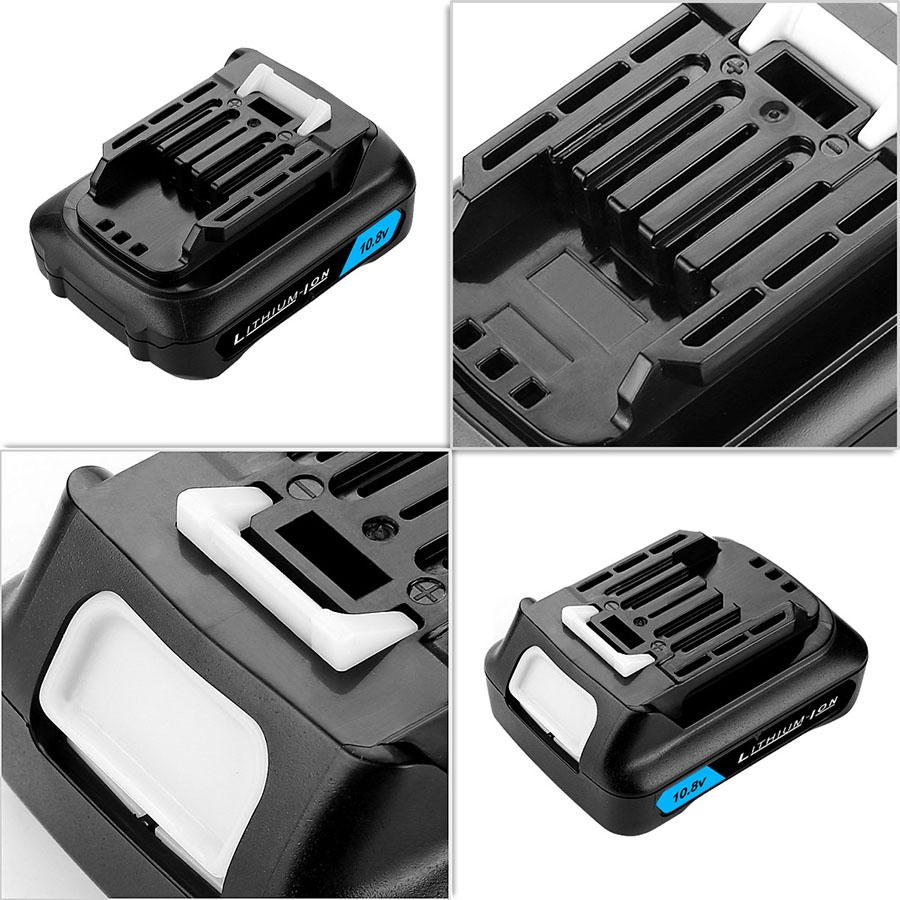 10.8V-12V CXT Lithium 2000mAh Battery Makita BL1021B BL1041B BL1015B BL1020B BL1040B 197402