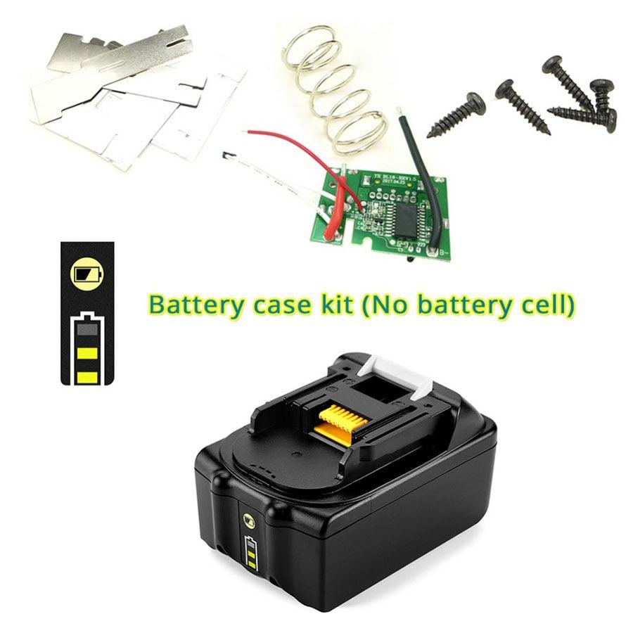 BL1830 BL1850 carte de circuit imprimé PCB 18V indicateur boîtier de batterie LED Board Makita BL1840 LXT400 (Pas de cellules de batterie)