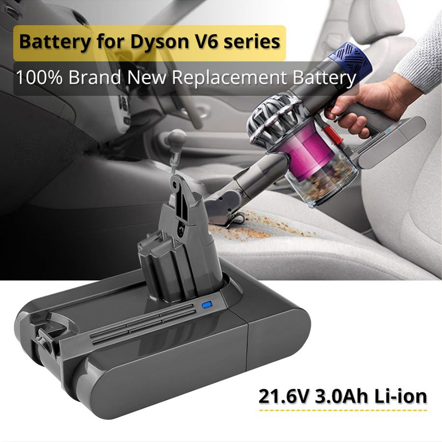 3.0Ah 21.6V Lithium Battery Dyson V6 DC62 DC58 DC59 SV09 SV07 SV03 Vacuum Cleaner Parts Sony Cells