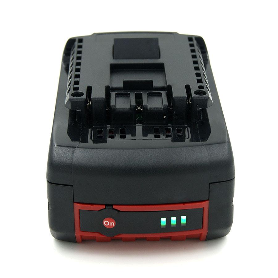 High Capacity 6000mAh 18V Lithium Battery Bosch Drill BAT609 BAT610 BAT618 BAT621 BAT622