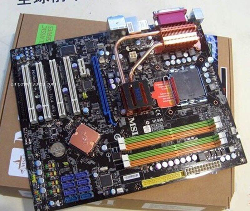 MSI P43 NEO3 Used Desktop Motherboard P43 Socket LGA 775 DDR2 ATX On Sale