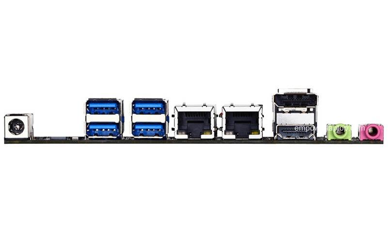 H110 ITX motherboard Gigabyte H110TN supports LGA1151 mini industry mainboard.
