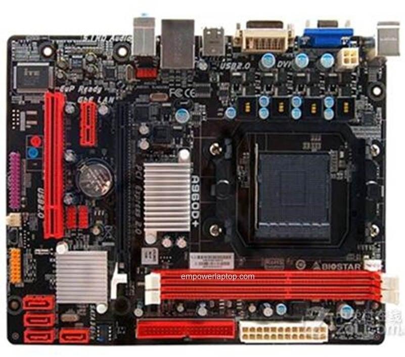 Použité Biostar A960D + DDR3 Socket AM3 AM3 + 960 stolní deska