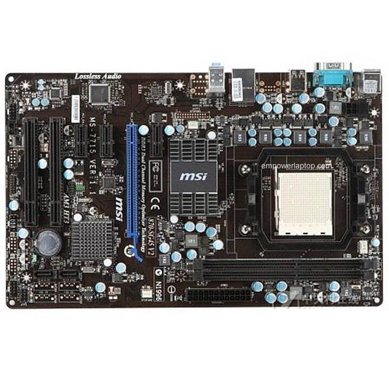 MSI 870-SG45 V2 Used Desktop Motherboard 770 Socket AM3 DDR3 8G SATA2 USB2.0 ATX