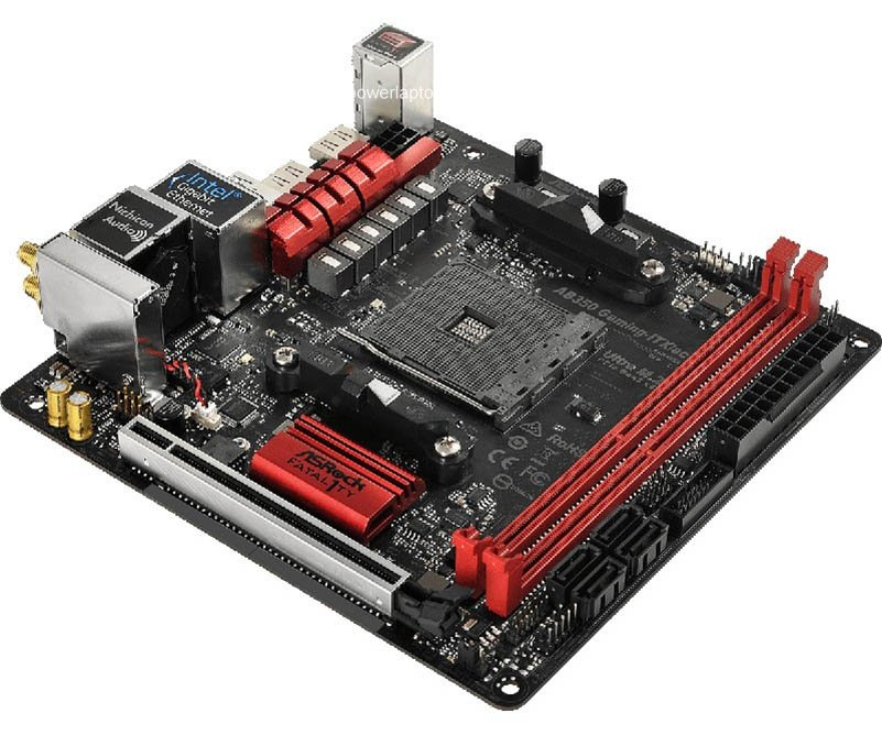 ASROCK AB350 GAMING-ITX/AC New Motherboard AB350 GAMING WIFI B350 Socket AM4 DDR4 32G Mini-ITX