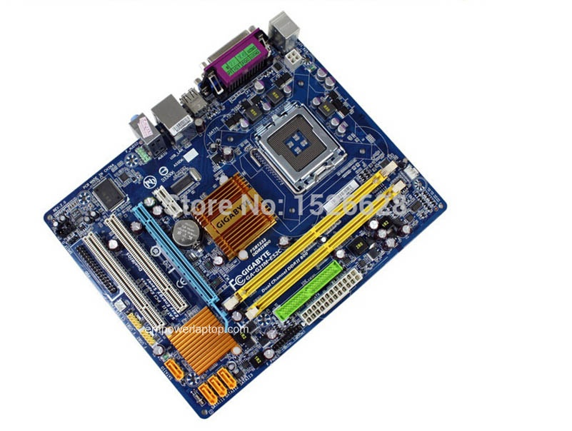 100% motherboard Gigabyte GA-G31M-ES2C G31M DDR2 LGA775 Solid-state integrated