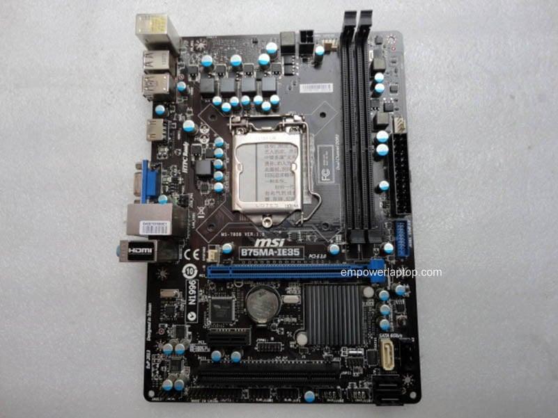 MSI B75MA-IE35 LGA 1155 VGA HDMI B75 motherboard