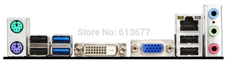 100% motherboard MSI B85M-P33 DDR3 LGA 1150 Solid Capacitor