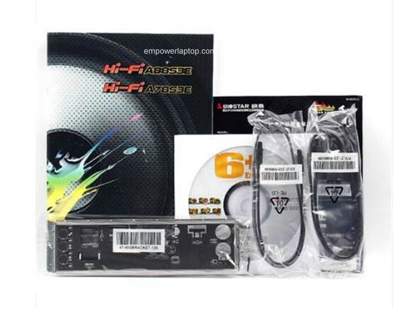 New motherboard Biostar Hi-Fi A88S3E Socket FM2/FM2+ DDR3 A8-7650K A10 cpu USB3.0 A88 Motherboard
