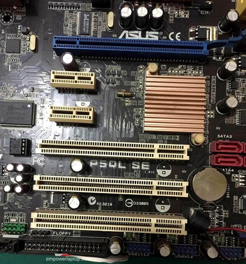 ASUS Desktop motherboard P5QL SE DDR2 LGA775 Intel P43 ATX SATA II used