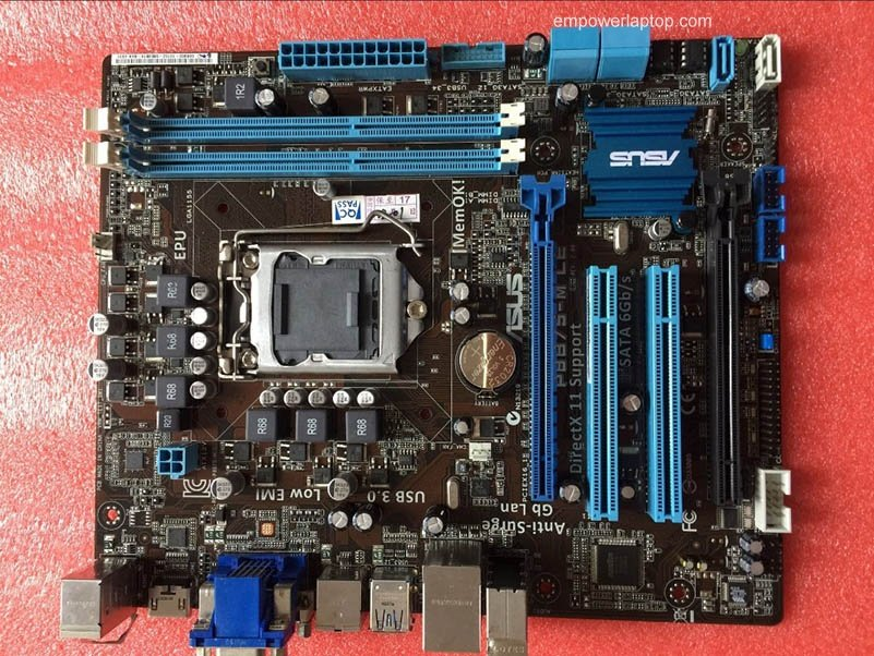ASUS P8B75-M LE Intel Graphics Drivers for Windows