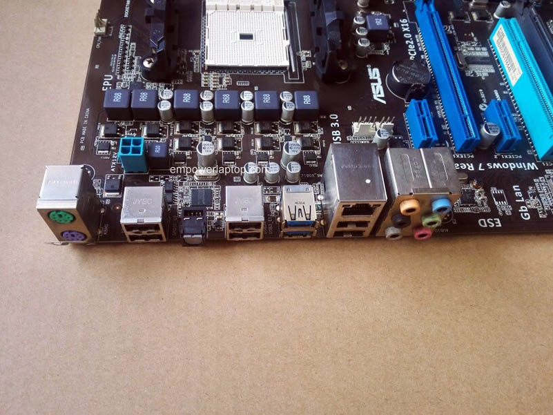 Asus F1A55 Used Desktop Motherboard / A55 Socket FM1 DDR3 64G SATA2 USB3.0 ATX