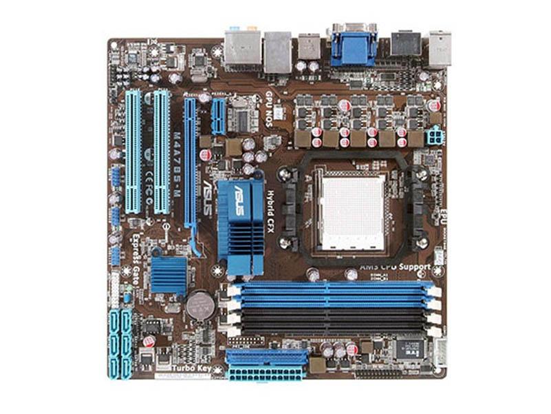Asus M4A785-M Used Desktop Motherboard / 785G Socket AM2 DDR2 SATA2 USB2.0 uATX