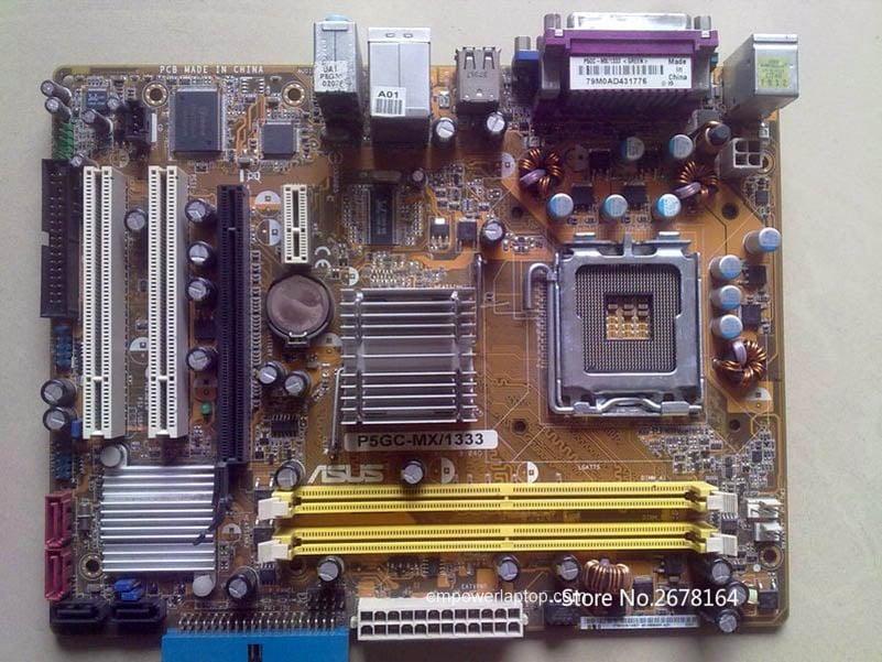ASUS P5GC-MX//1333 LGA775 Socket Intel Motherboard