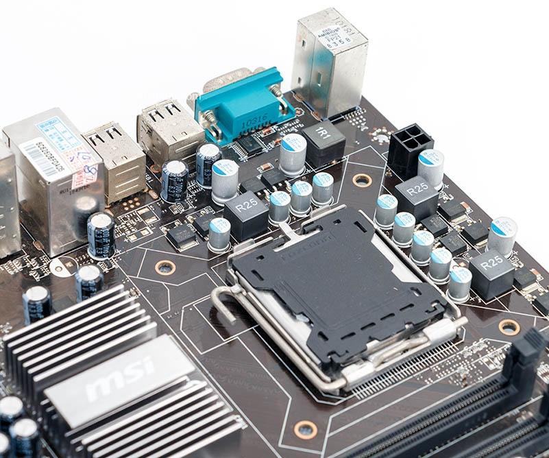 MSI P43-C43 Used Desktop Motherboard P43 Socket LGA 775 DDR3 8G SATA2 USB2.0 ATX