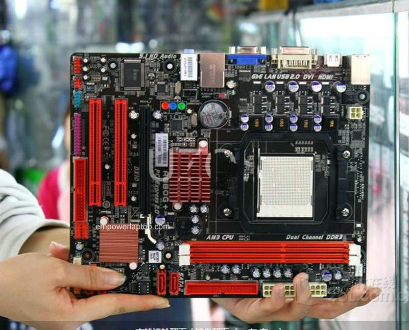 motherboard Biostar A880G+ 6.x Socket AM3 DDR3 8GB USB 2.0 880G Desktop motherborad