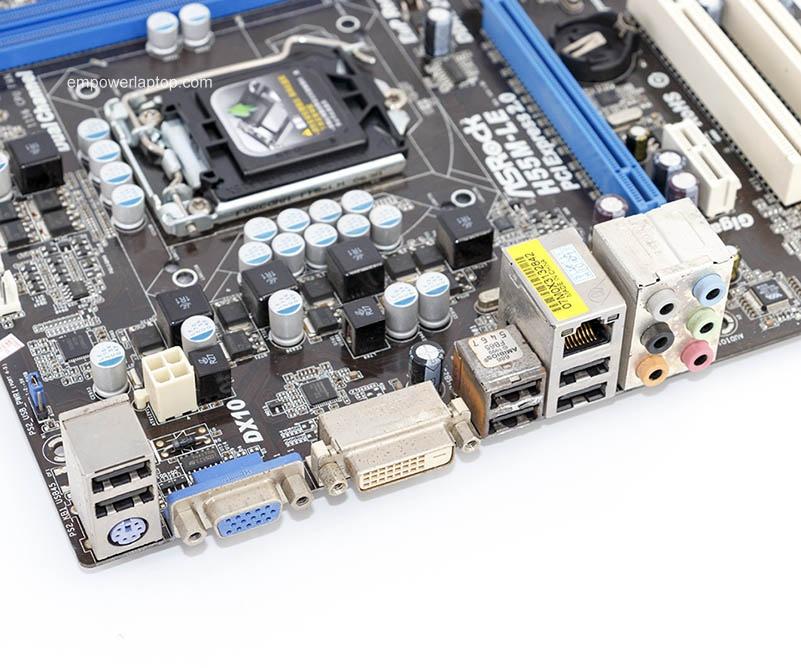 Asrock H55M-LE gebruikte desktop moederbord H55 socket LGA 1156 i3 i5 i7 DDR3 8G SATA2 USB2.0 Micro-ATX