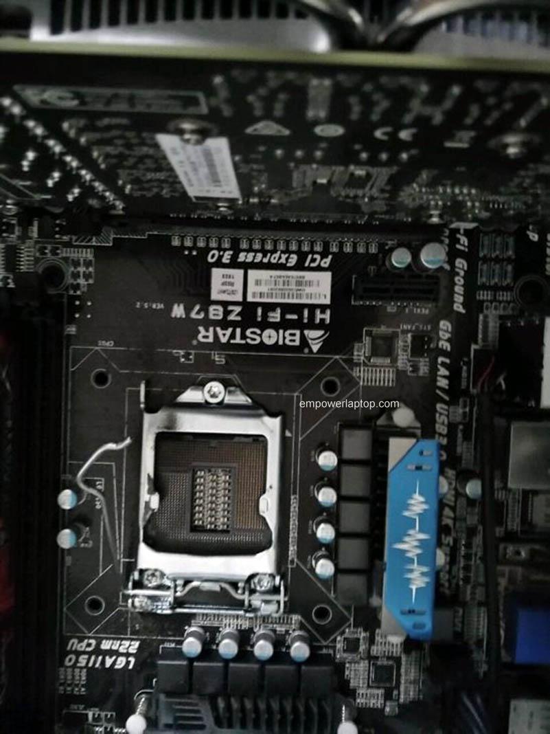 Biostar Hi-Fi Z87W 3D LGA 1150 RAM motherboard