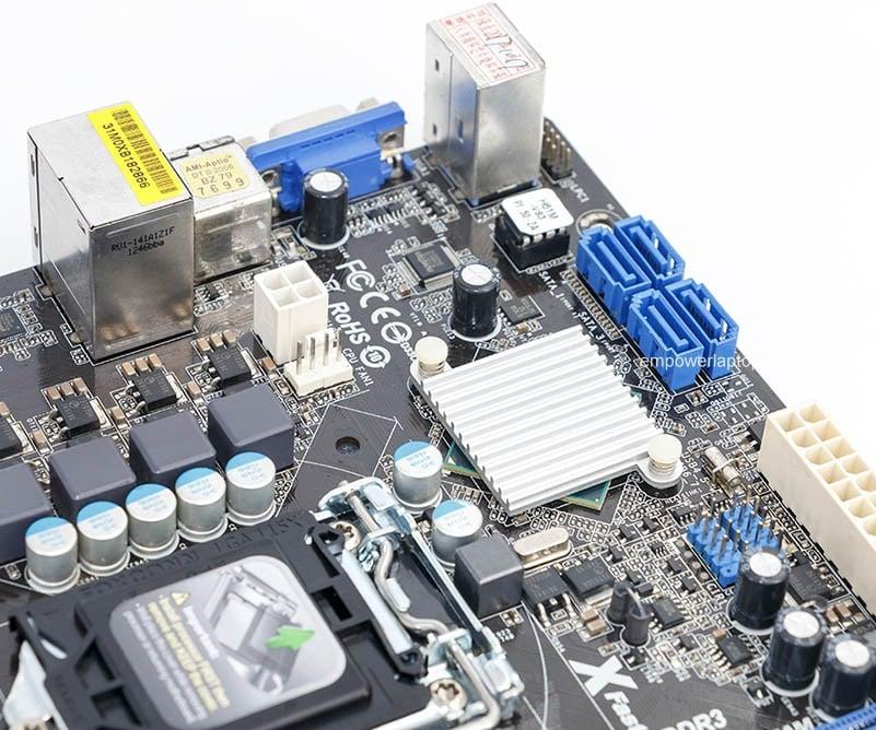 Asrock H61M-VS3 gebruikte desktop moederbord H61 socket LGA 1155 i3 i5 i7 DDR3 16G USB2.0 Micro-ATX