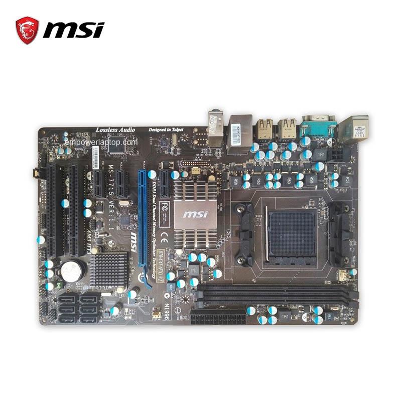 MSI 870-C45 V2(FX) Used Desktop Motherboard 770 Socket AM3 DDR3 8G SATA2 USB2.0 ATX