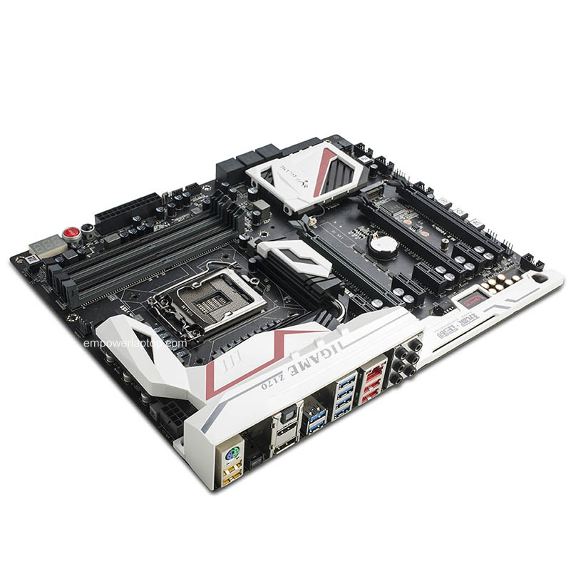 Colorful iGame Z170 Ymir X Motherboard Mainboard Systemboard Intel Z170/LGA1151 DDR4 ATX SATA-E USB 3.1 M.2 Port Desktop