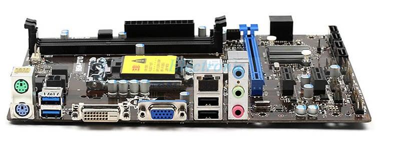 MSI Desktop Motherboard B85 LGA 1150 DDR3 PCI-E 3.0 USB3.0 SATA III Micro ATX DVI VGA