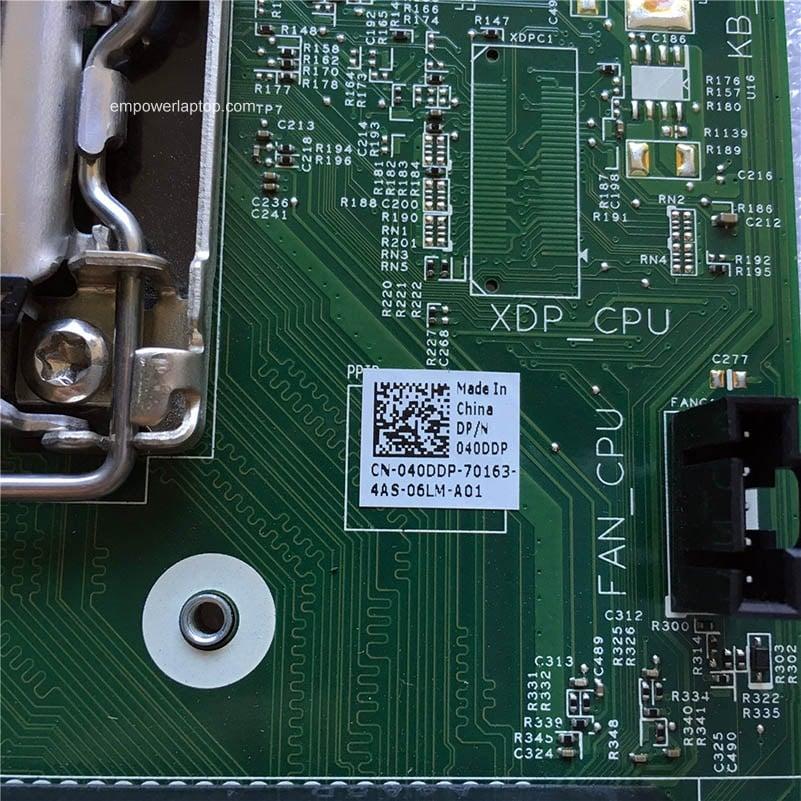 Reboto Dell 3020 Desktop moderkort LGA1150 H81 VJ4YX CN-040DDP 040DDP 40DDP 100% Testat Snabb Ship