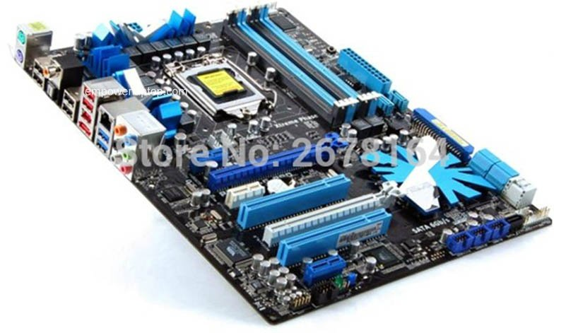 motherboard ASUS P7P55D-E PRO DDR3 LGA 1156 16GB Intel P55 desktop motherboard