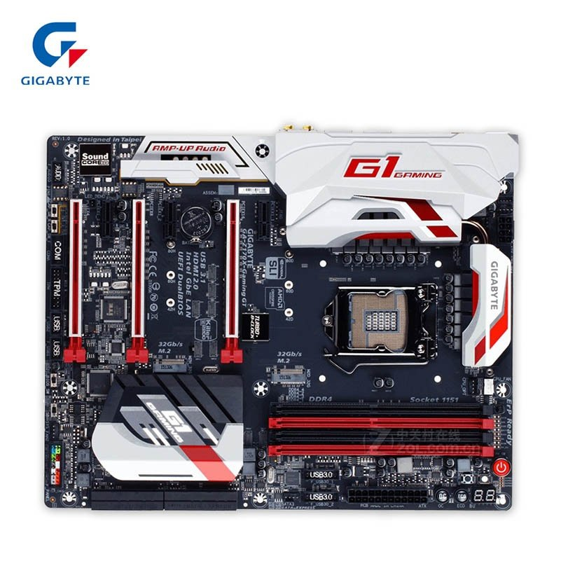 Gigabyte GA-Z170X-GAMING GT New Desktop Motherboard Z170X-GAMING GT Z170 LGA 1151 DDR4 64G USB3.1 ATX