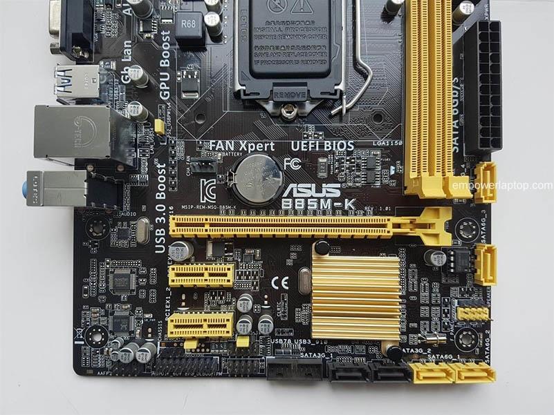 Used, ASUS B85M-K DDR3 LGA 1150 Intel B85 Desktop motherborad