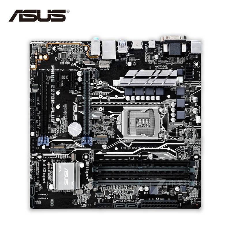 Asus PRIME Z270M-PLUS Z270 LGA 1151 Micro-ATX motherboard
