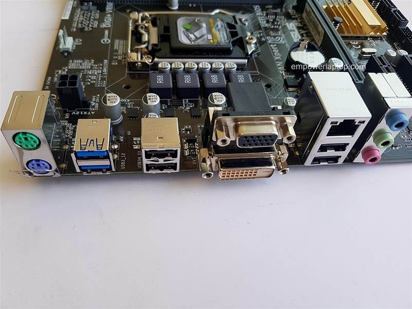 Used, Asus B85M-V5 PLUS Desktop Motherboard B85 Socket LGA 1150 i7 i5 i3 DDR3 16G SATA3 Micro-ATX