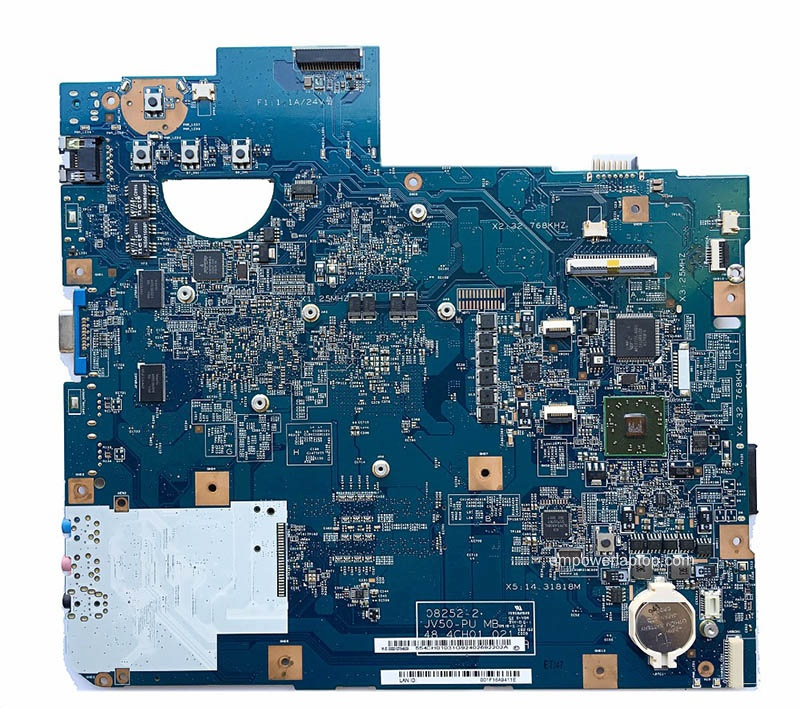 Reboto ACER 5536 Laptop moederbord Mainboard 48.4CH01.021 MBP4201004 DDR2 100% getest Fast Ship