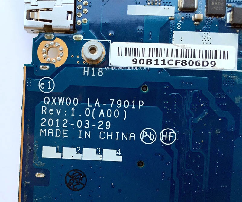 Reboto DELL E5430 Laptop Motherboard Mainboard 0T7NXT T7NXT QXW00 LA-7901P PGA 989 DDR3 100% Tested Fast Ship