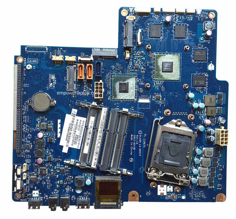 Reboto Vysoce kvalitní Desktop Motherboard Lenovo B520 CIH67S LA-6951P DDR3 H61 GT555M 100% Testováno rychlou loď
