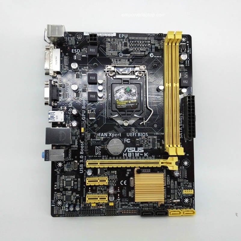 Asus H81M E H81 Socket LGA 1150 I7 I5 I3 DDR3 16G SATA3