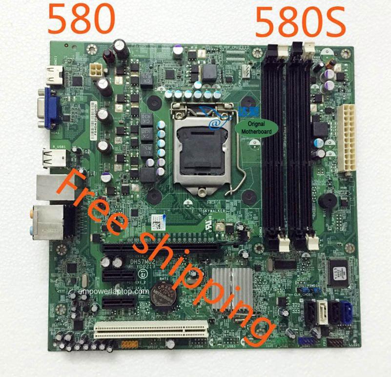 0C2KJT C2KJT DELL Inspiron 580 580s Desktop moderkort DH57M02 LGA1156 moderkort 100% testas fullt ut arbeta