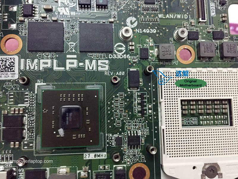 0P4T42 P4T42 DELL Inspiron 2350 AIO Motherboard IMPLP-MS Mainboard 100%tested fully work