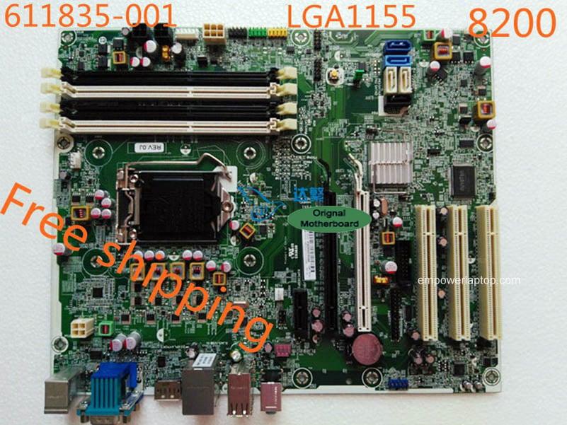 HP 611835-001 Compaq 8200 Elite 611796-003 611797-000 LGA1155 motherboard